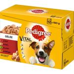 Pedigree Portionsbeutel Multipack Adult in Gelee | 12 x 100g