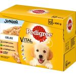 Pedigree Portionsbeutel Multipack Junior in Gelee | 12 x 100g