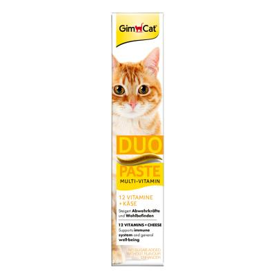 GimCat Multi-Vitamin | Duo-Paste Käse + 12 Vitamine 50g