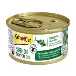 GimCat ShinyCat Superfood Duo Thunfischfilet mit Zucchini | 70g