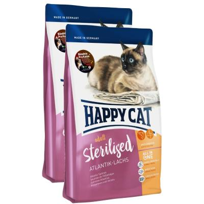 Sparpack! Happy Cat Supreme Sterilised Atlantik-Lachs | 2 x 10 kg
