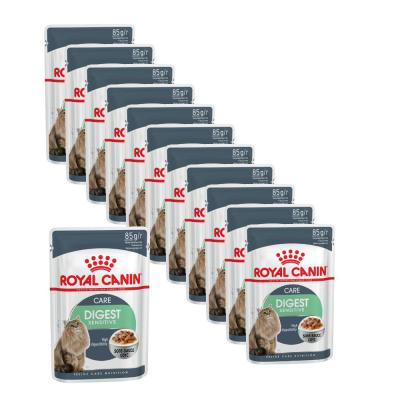Maxipack Royal Canin Digest Sensitive in Soße | 85g 10 + 2 gratis