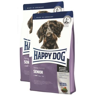 Sparpack! Happy Dog Fit & Well Senior | 2 x 12,5kg