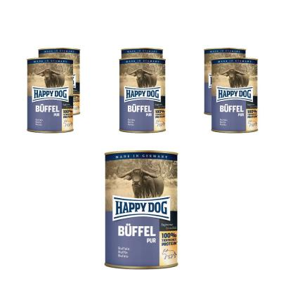 Sparpack! Happy Dog Büffel pur | 6 x 800g