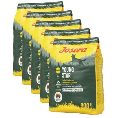 Sparpack! Josera YoungStar | 4,5kg (5x900g)