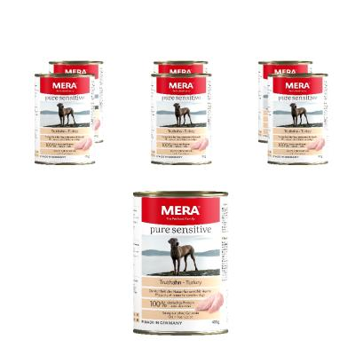 Sparpack! MERA pure sensitive MEAT | Truthahn 6x400g