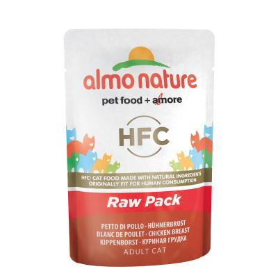 Almo Nature HFC Raw Pack Hühnerbrust | 55g