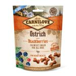 Carnilove Dog Crunchy Snack | Ostrich with Blackberries 200g