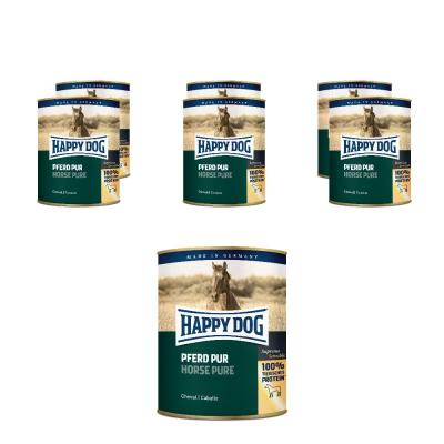 Sparpack! Happy Dog Pferd Pur | 6 x 800g