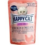 Happy Cat All Meat Junior Huhn & Seelachs Pouch | 85g