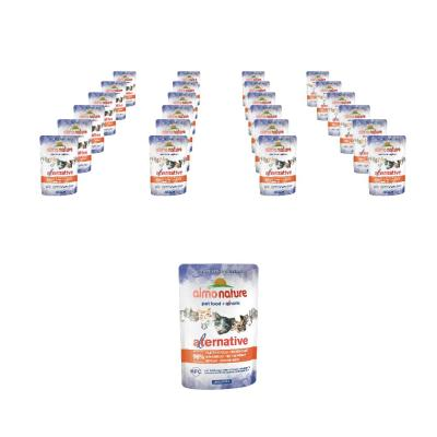 Sparpack! Almo Nature HFC Alternative Hühnerfilet | 24 x 55g